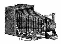 Antique Images: Free Digital Image Transfers of Vintage Box Camera...