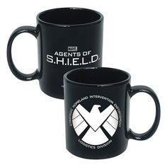 Marvel Agents of SHIELD Logo 20 oz Ceramic Mug