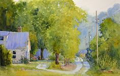 """""""3-Day Watercolor Workshop"""" with Judy Mudd Small group intensive. Limited to 8 for more individual attention. Oct 27-29, 2014"""