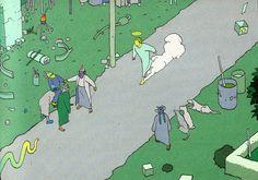Moebius #10 from 2001 AD Stardom Edition, Paris 2000