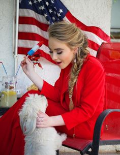Sabrina is so pretty and talented.