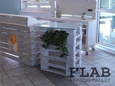 Noleggio Arredi in Pallet per Stand, Eventi e Fiere | FLAB Arredo Pallet