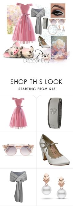 """""""Pua; Dapper Day"""" by foreverdisneybounding ❤ liked on Polyvore featuring Disney, Jimmy Choo, Rainbow Club, Escalier, disneybound, dapperday and moana"""