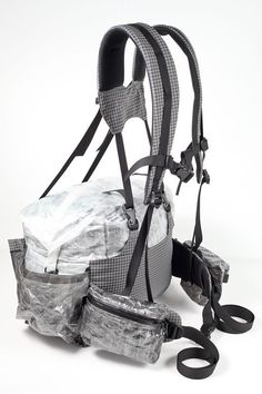 HalfPack Back view Hmmmm. could this be used as a meat hauler? Ultralight Backpacking Gear, Hiking Gear, Backpacking Light, Backpacking Meals, Hiking Tips, Diy Backpack, Hiking Backpack, Hunting Packs, Lightweight Backpack
