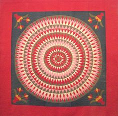 Bull's Eye ,Berk's County Pennsylvania  1900-20. bull eye, vintage quilts, bullsey quilt, eye quilt, challeng, antiqu quilt
