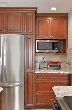 13 best cherry wood kitchen cabinets images cherry wood kitchen rh pinterest com