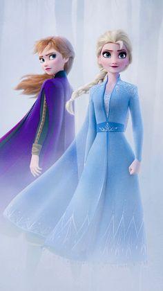 frozen 2 wallpaper iphone Anna and Elsa - Frozen 2 Frozen Disney, Elsa Frozen, Princesa Disney Frozen, Frozen Art, Frozen Movie, Frozen Princess, Elsa 2, Frozen 2 Wallpaper, Cute Disney Wallpaper