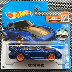 Hot Wheels HW Showroom™ Porsche 993 GT2 SUPER TREASURE HUNT$ 114/250 T-Hunt RAR