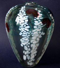 Siddy Langley Glass D'Orsay Vase http://www.bwthornton.co.uk/isle-of-wight-richard-golding-bath-aqua-glass.php