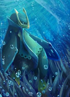 I feel like Empoleon is always watching me, from its position as my first Pokémon.
