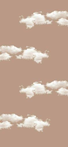 Neutral Wallpaper, Cloud Wallpaper, Brown Wallpaper, Iphone Background Wallpaper, Wallpaper Quotes, Cream Wallpaper, White Wallpaper Iphone, Iphone Background Vintage, Iphone Lockscreen Wallpaper