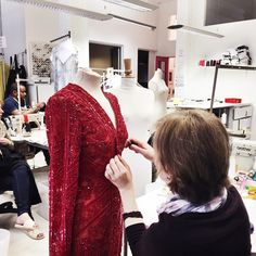 Elie Saab Dress Alteration by London Fitting Rooms