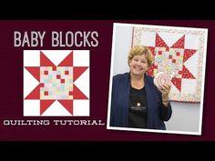 MSQC Tutorial - Baby Blocks Quilt