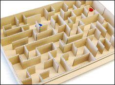 ビー玉めいろ Easy Crafts For Kids, Diy And Crafts, Vocabulary Parade, Wood Games, Business For Kids, Diy Toys, Maze, Kids And Parenting, Kids Playing
