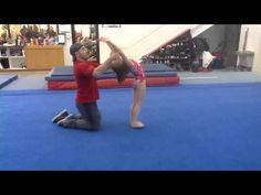 Pre-team Learning Front Handsprings - YouTube