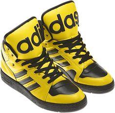 01769ef59846 8 Best Mens Jeremy Scott Adidas JS Instinct Hi Black Shoes images ...