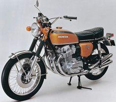 Honda gold 1972 750