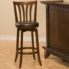 "Hillsdale Furniture Savana 30"" Swivel Bar Stool with Cushion"