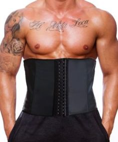 f8383241b3 GainKee Latex Men Waist Trainer Corsets With Steel Bone Sweat Sauna Suit  For Fitness (Medium) - Best Weight Loss Tips in 2018