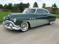 Learn more about Attractive Cruiser: 1952 Buick Special Deluxe Riviera Two Door Hardtop on Bring a Trailer, the home of the best vintage and classic cars online. American Classic Cars, Old Classic Cars, Classic Cars Online, Retro Cars, Vintage Cars, Antique Cars, Vintage Auto, Lowrider, Buick Cars