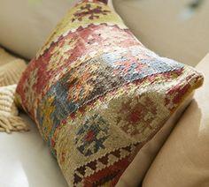 Kilim Recycled Yarn Pillows