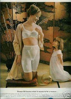 5e920c45883 Perma Lift bra and girdle. Vintage Girdle
