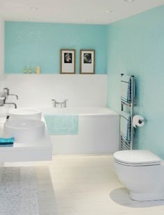 Turquoise BathroomsTo Persuade You The Cavender Diary Pinterest - Cheap bathroom tile alternatives