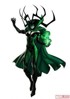 Hela in #Marvel: Avengers Alliance