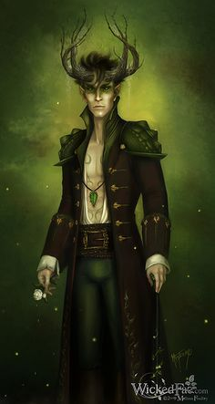 King Oberon - this is who Micah is dressed as at the Halloween Rave