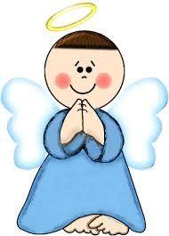 angeles animados para bautizo - Buscar con Google