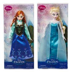 "Disney Frozen Sisters Classic Doll Set Featuring 12"" Dolls of Princess Anna and Elsa Disney,http://www.amazon.com/dp/B00GVRLDG6/ref=cm_sw_r_pi_dp_0IQOsb0PXYZEYDVT"