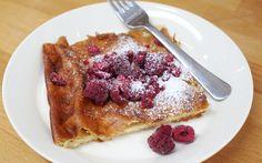 Gluteeniton pannukakku - Myllärin French Toast, Baking, Breakfast, Cake, Desserts, Anna, Food, Drinks, Morning Coffee