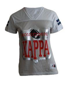 Sigma Kappa Homecoming Jersey by Adam Block Design | Custom Greek Apparel & Sorority Clothes | www.adamblockdesign.com