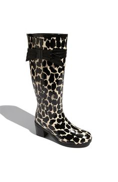 kate spade new york 'randi too' rain boot -- it has my name in it AND it's leopard ... must be FATE.