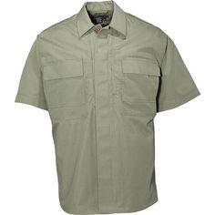 5.11 Taclite TDU Shirt, TDU Green, L Tall