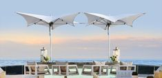 The TUUCI Manta Ocean Master Umbrellas and Parasols are the ultimate companion to your outdoor area.