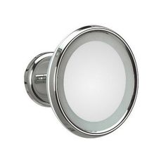 """WS Bath Collections Mirror Pure Lucciolo Magnifying Cosmetic Wall Mirror Size: 9.5"""" H x 9.5"""" W x"""