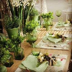 Kiss Me I\'m Irish Table - Purple Chocolat Home   Table Setting ...