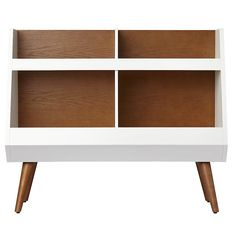 Shop Next Chapter Bookcase (Walnut/White).  We skipped ahead in our book about building the perfect bookcase to bring you our Next Chapter Bookcase.