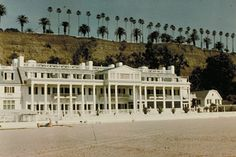 The oceanfront site upon which Santa Monica's Annenberg Community Beach House sits was originally developed during the Gold Coast era of the 1920s by William Randolph Hearst for actress Marion Davies. Wallis Annenberg of the Annenberg Foundation enthusiastically provided a $27.5 million grant that paved the way for the site's rehabilitation. The site opened to the public as the Annenberg Community Beach House in 2009, combining elements of the historic Marion Davies estate with new amenities
