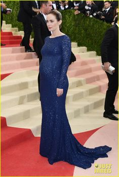 Pregnant Actresses Emily Blunt & Olivia Wilde Show Off Baby Bumps in Michael Kors at Met Gala 2016