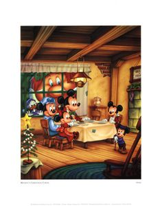 I love Mickey's Christmas Carol!  The Ghost of Christmas Present in this one is my favorite!
