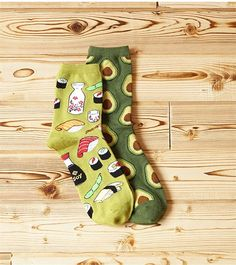 12$ Sushi & Avocado Socks