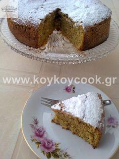 ΤΑΧΙΝΟΠΙΤΑ ΚΕΙΚ(Vegan) – Famous Last Words Greek Sweets, Greek Desserts, Greek Recipes, Vegan Desserts, Cooking Cake, Cooking Recipes, Greek Cake, Cypriot Food, Greek Cookies