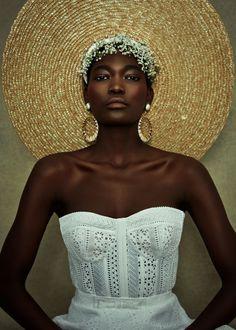 Bridal Hat, Bridal Style, Black Is Beautiful, Looking Gorgeous, Madona, Photo Portrait, Black Bride, Shooting Photo, Black Girl Aesthetic