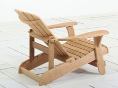 Bearchair Original adirondeck verstelbaar Naturel van Bear Chair Original - Druk op (Esc) om te sluiten