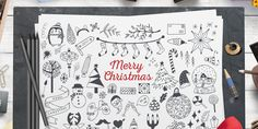 80 Christmas Free Vector Illustration Pack - ByPeople