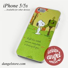 Snoopy In Right this instant Phone case for iPhone 4/4s/5/5c/5s/6/6 plus