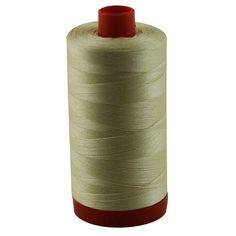 Aurifil 50wt Mako Cotton Thread 1,422 yards - Light Lemon A1050-2110