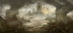 Mirkwood Marsh Ruins by JonHodgson
